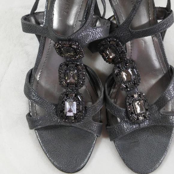 Nine West Shoes - Nine West Heels Sandals  Almost New!! 8 M